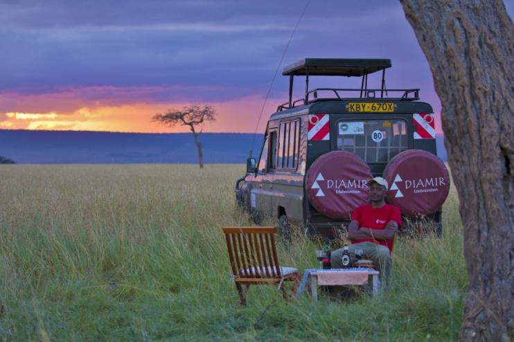 Tierbeobachtung in der Masai Mara