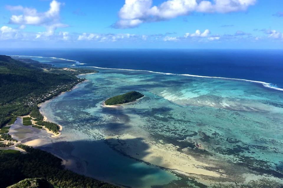 Mauritius, Aussicht vom Le Morne