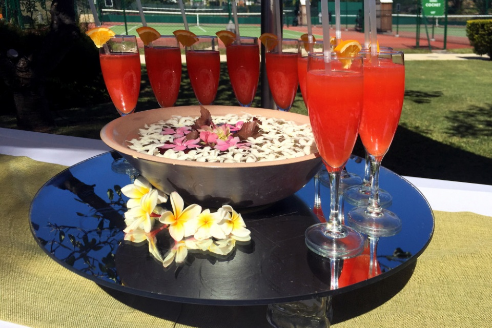 Mauritius, Welcome Drink