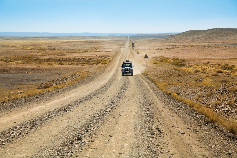 Mit dem Mietwagen durch die Karoo