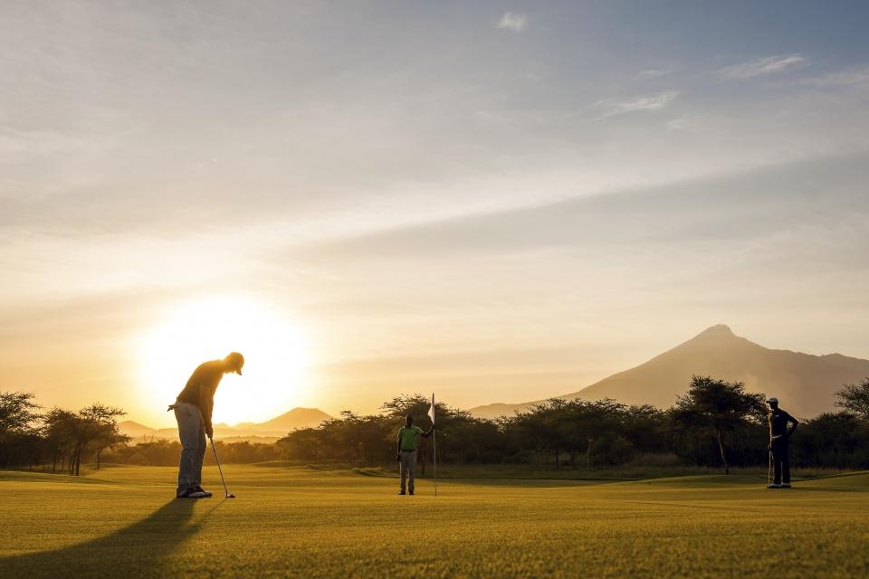 Kili Golf Platz Tansania