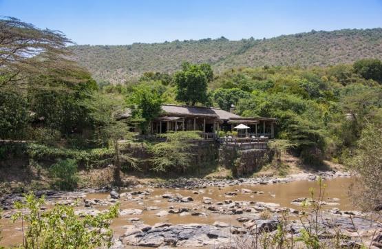 Olonana Camp und der Mara River