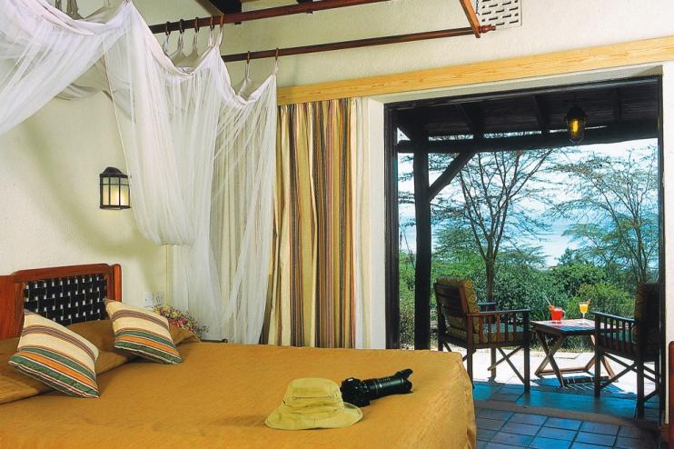Zimmer der Sarova Lion Hill Game Lodge