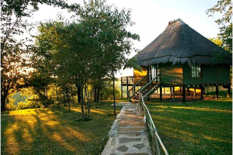 Camp Kwando Außenansicht