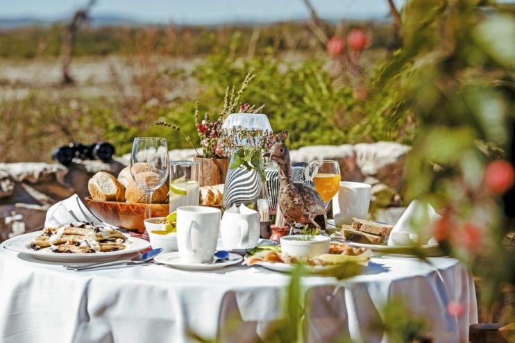 Kambaku Lodge – Frühstück