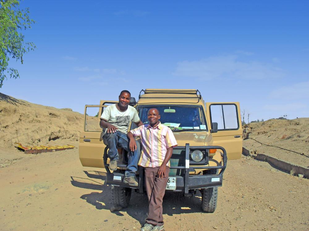 Reiseleiter in Sambia