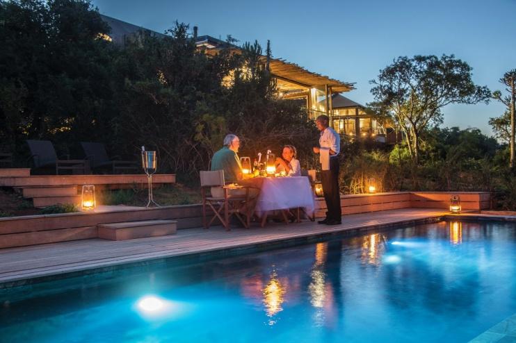 Fine Dining in der Kariega Settlers Drift Lodge