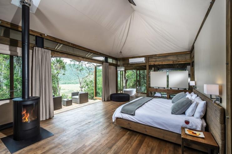 Zimmerbeispiel von der Kariega Settlers Drift Lodge