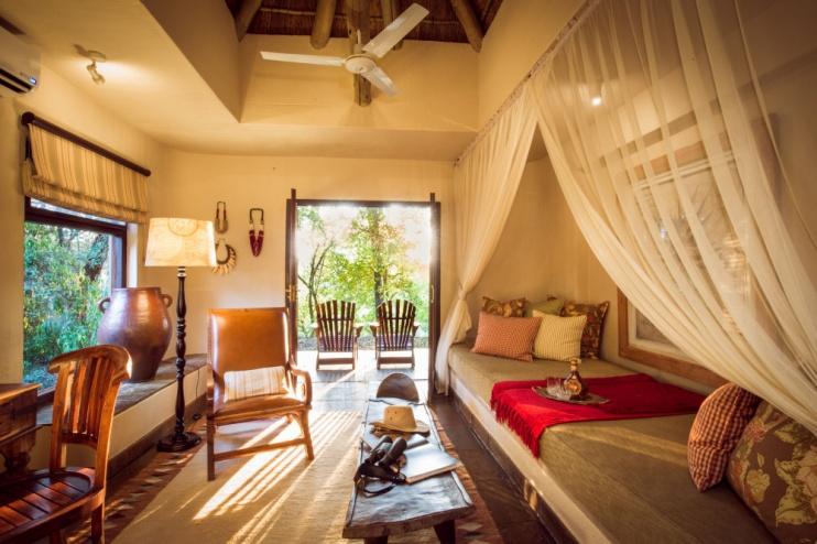 Suite in der Sabi Sabi Bush Lodge