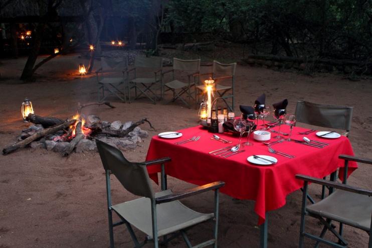 Stone Camp Swasiland, Boma