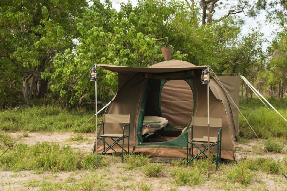 Bushways Safaris, Zelt