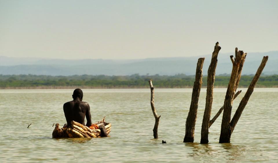 Fischer am Lake Baringo
