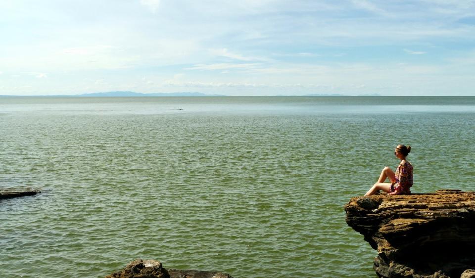 Insel im Turkana See