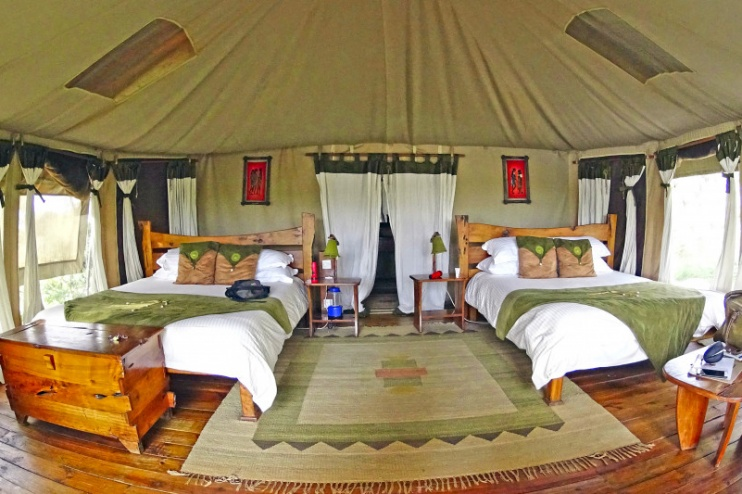 Elephant Bedroom Camp African Special Tours