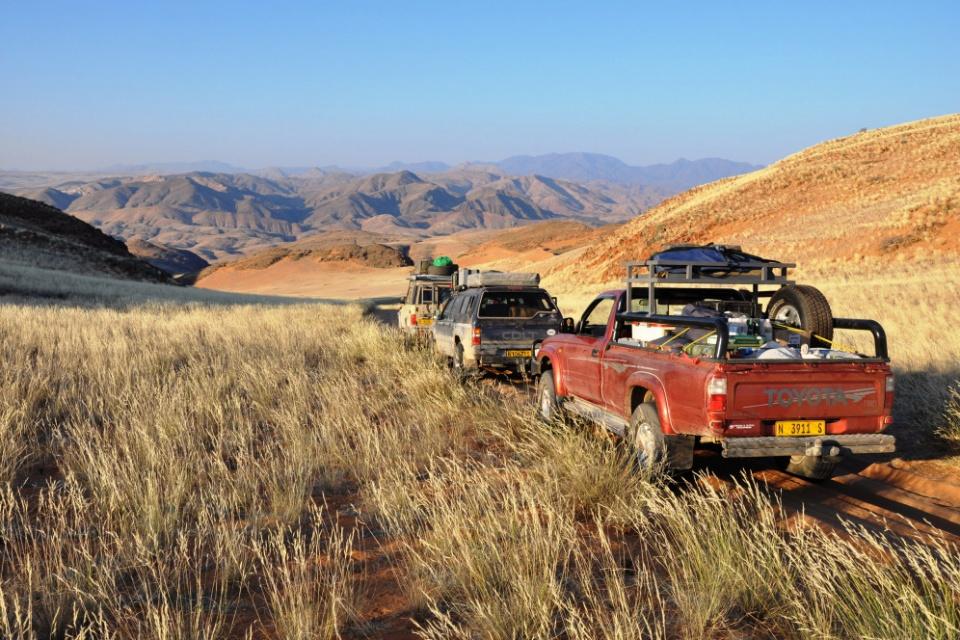 Ankunft in der Kunene Region