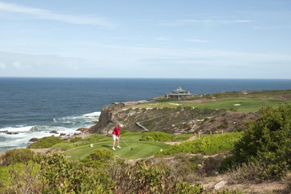 Golfen am Kap