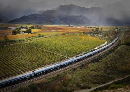 Mit dem Rovos Rail in die Kapregion
