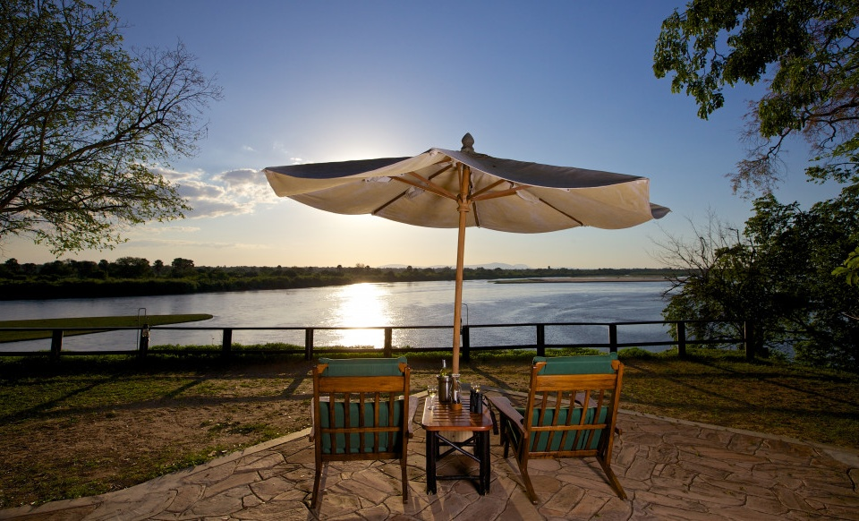 Rufiji River Camp, Deck