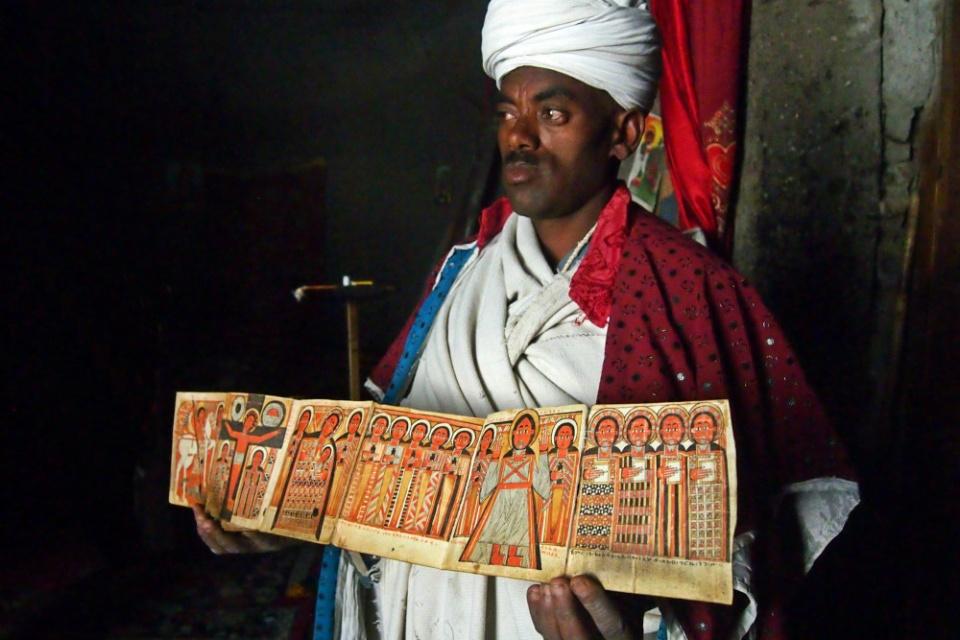 äthiopischer Priester