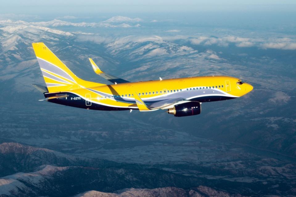Privatflugzeug Boeing 737-700