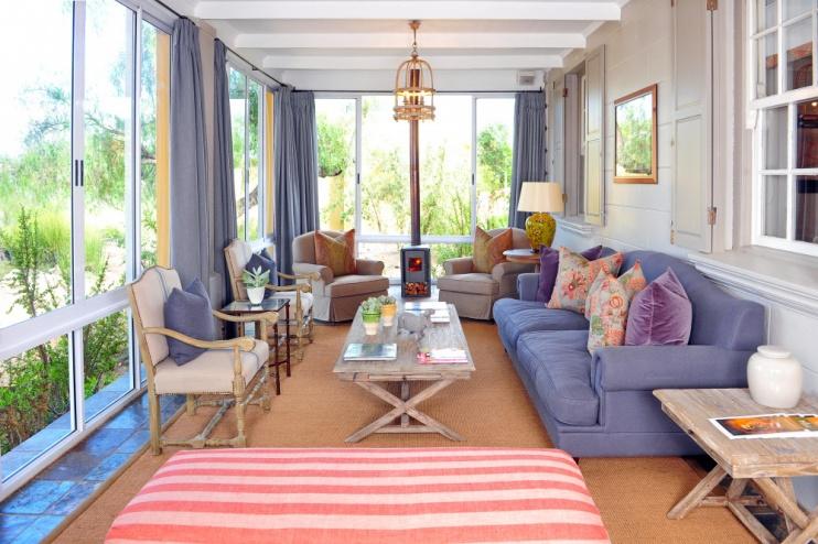 Lounge in der Tilney Manor Lodge