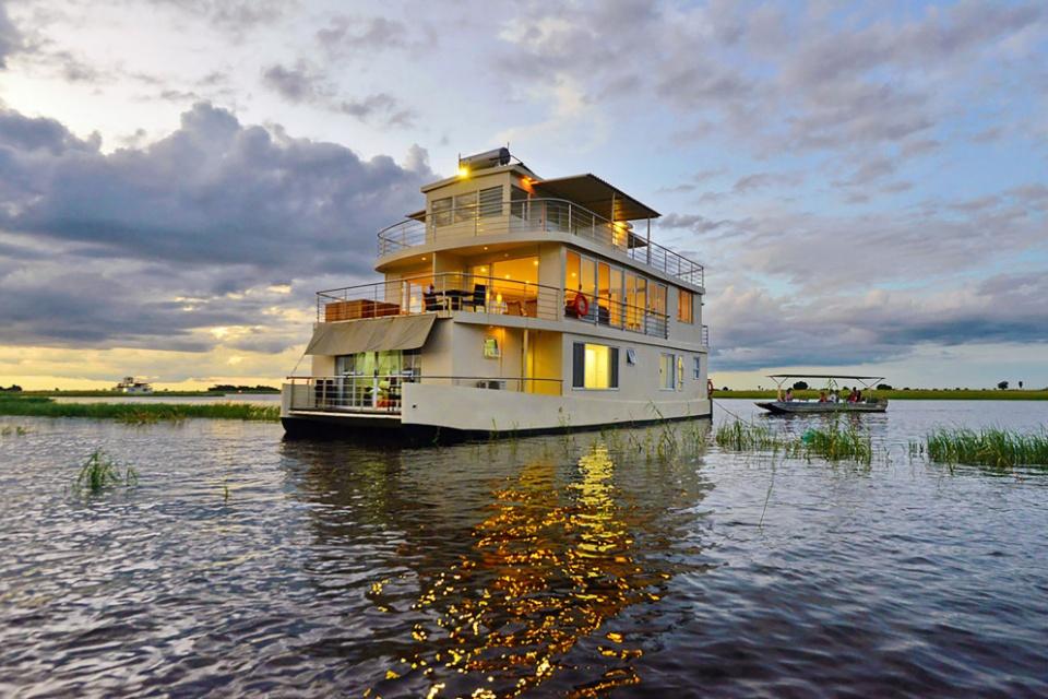 Chobe Princess, Hausboot auf dem Chobe