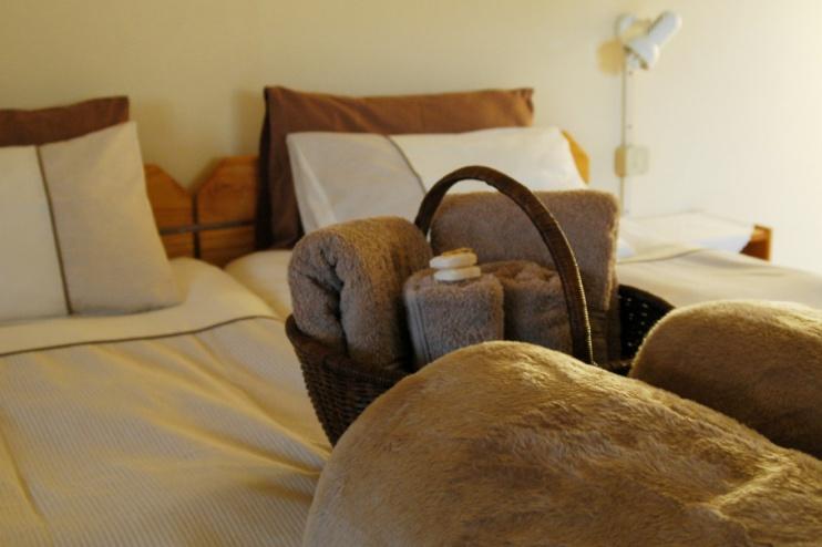 Zimmer bei der Dabis Guestfarm