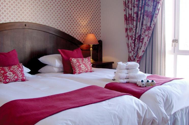 Zimmer beim Hotel Eberwein