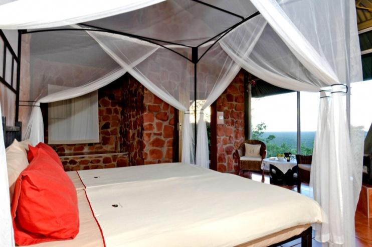 Zimmer in der Waterberg Plateau Lodge