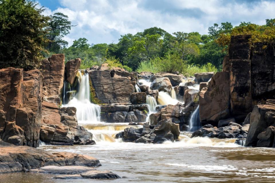 Wasserfälle im Nkhotakota Wildreservat