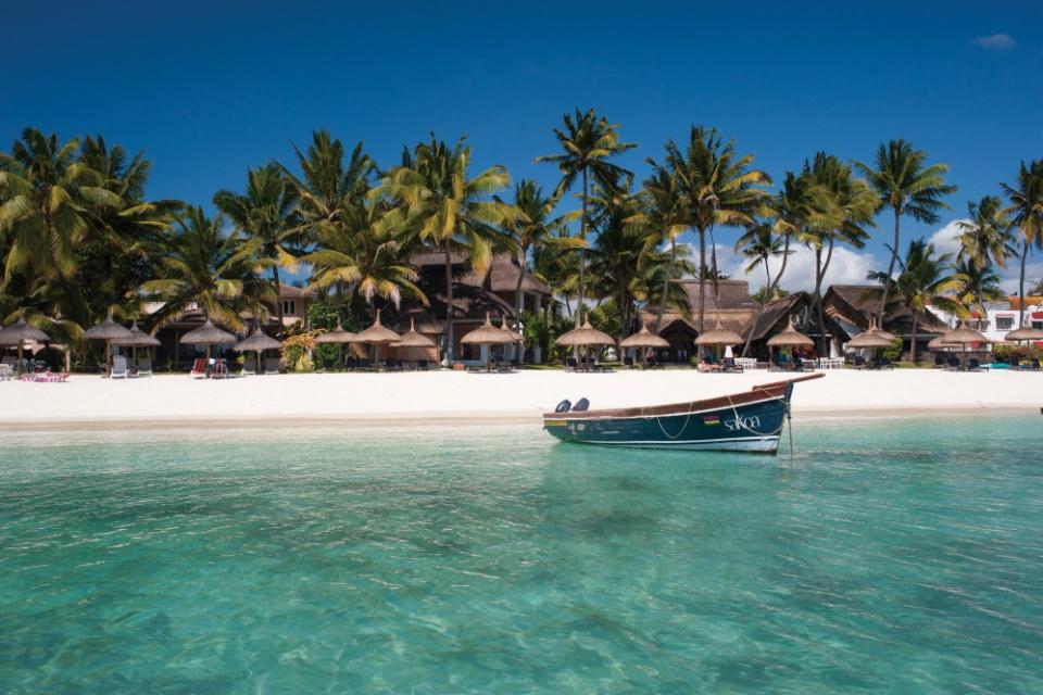 Le Sakoa, Blick vom Strand