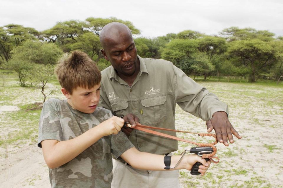 Kinderfreundliche Aktivitäten im Young Explorer`s Camp