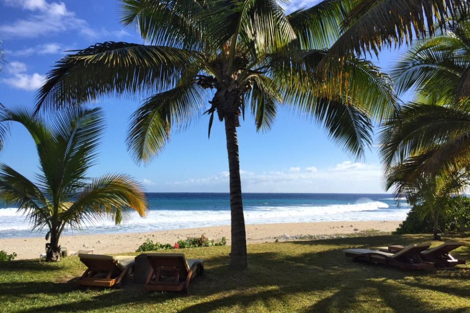 Entspannung am Strand der Westküste