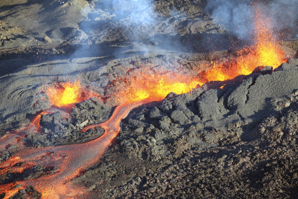 Vulkan Piton de la Fournaise