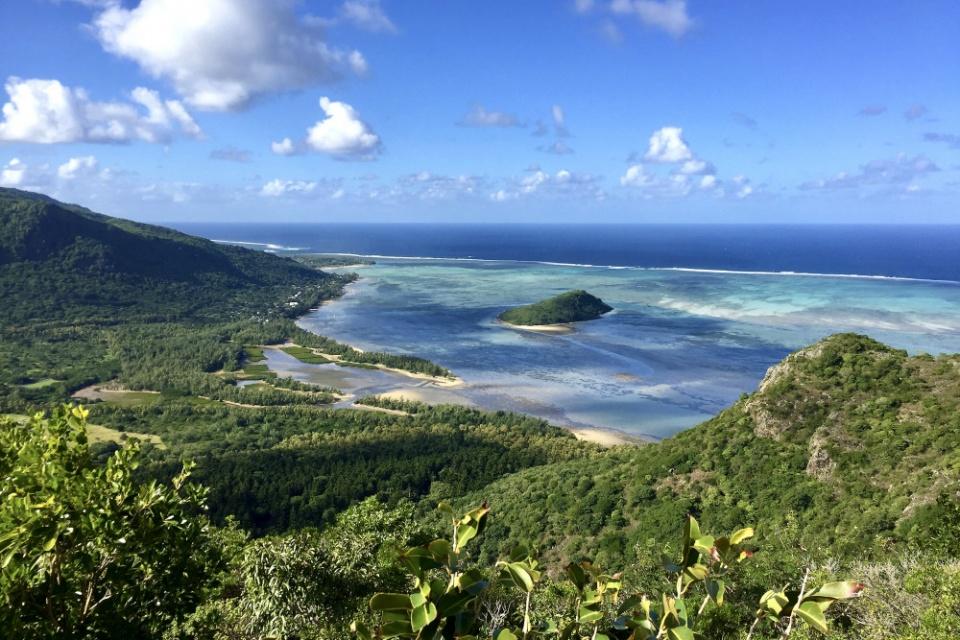 Atemberaubende Ausblicke auf Mauritius