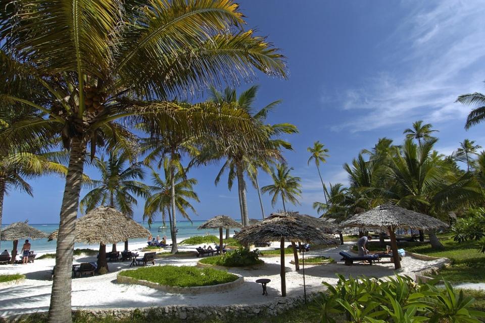 Strand des Breezes Beach Club