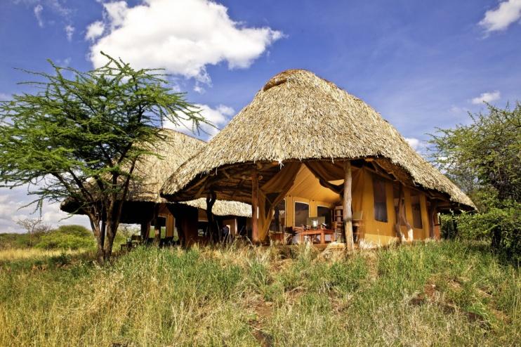 Zelt im Lewa Safari Camp