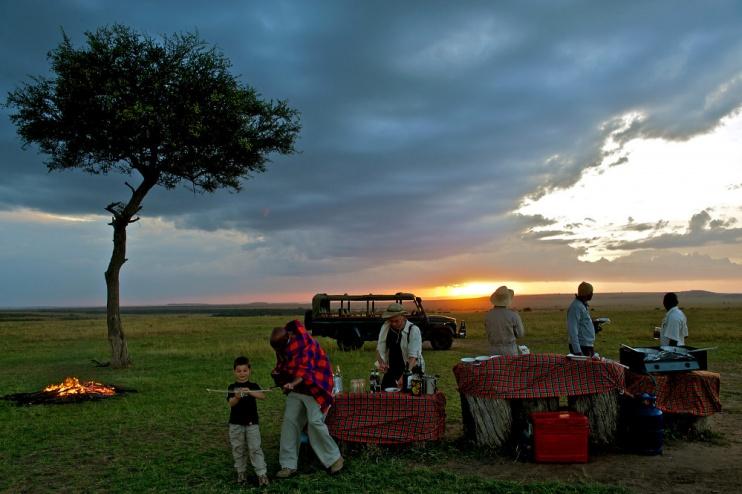 Mara Intrepids Camp