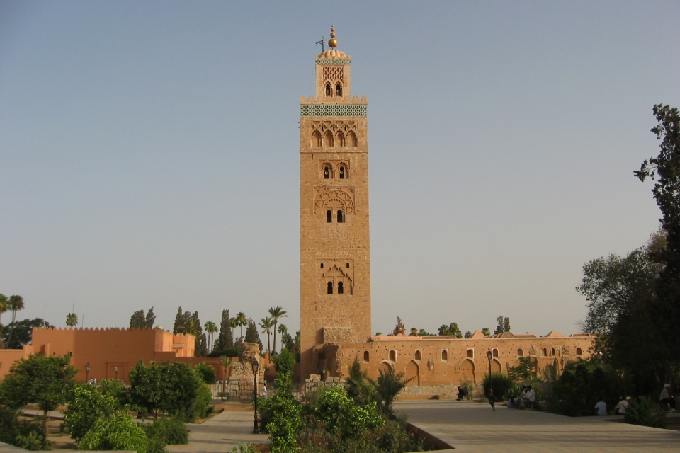 Marokko-Marrakesch-Koutoubia-Moschee-AME Koutoubia