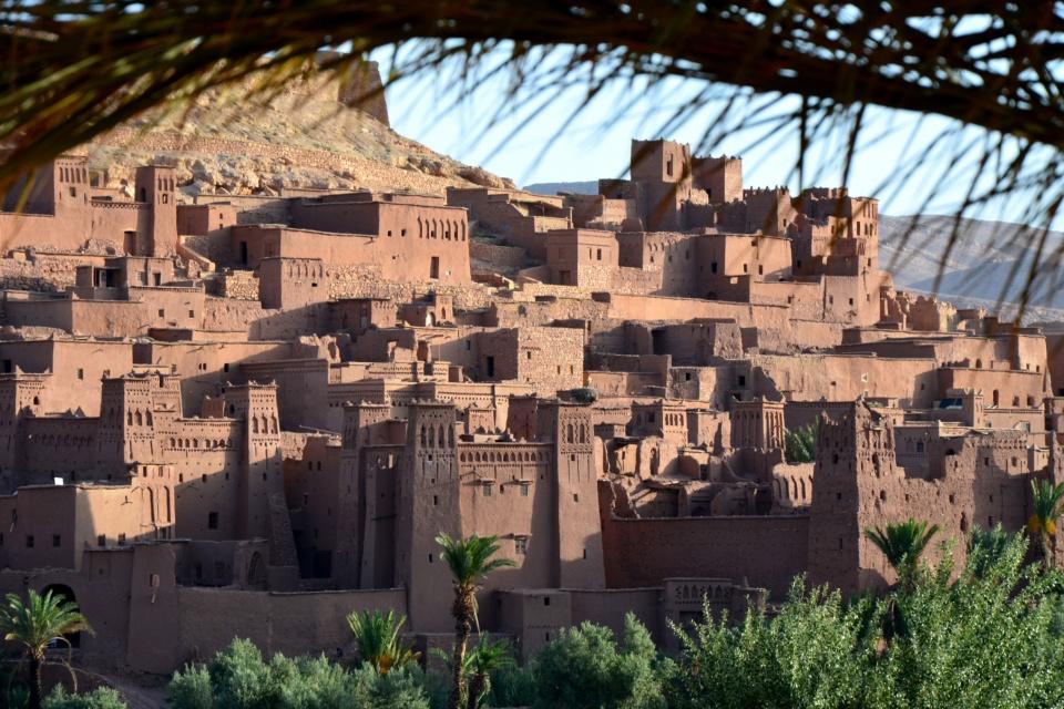 Marokko-Sonnenaufgang-Ait-Ben-Hadou-AME Sunrise at Ait Ben Hadou