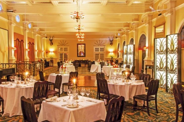 The Victoria Falls Hotel, Restaurant
