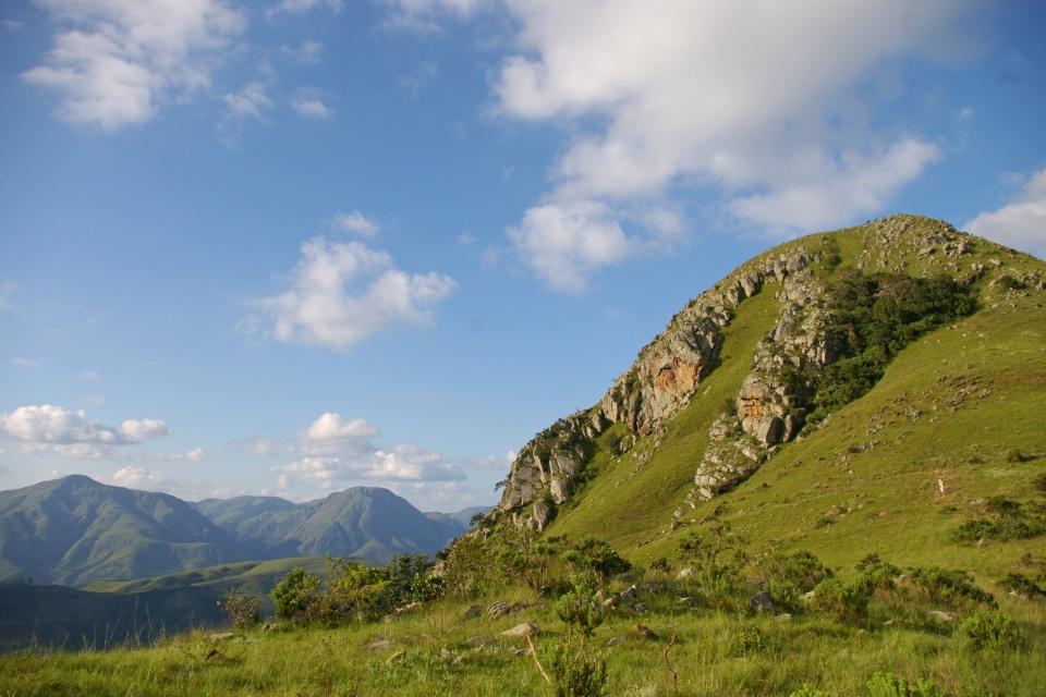 Landschaft im Phophonyane Nature Reserve