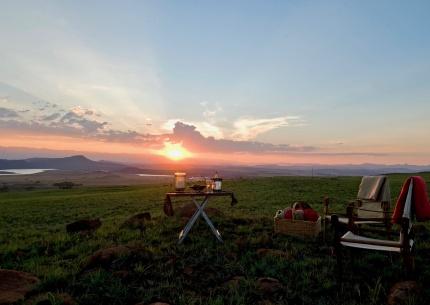 Drakensberge Sonnenuntergang